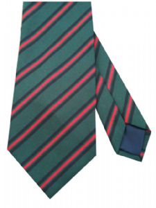 Gurkha Brigade Stripe Regimental Military Tie